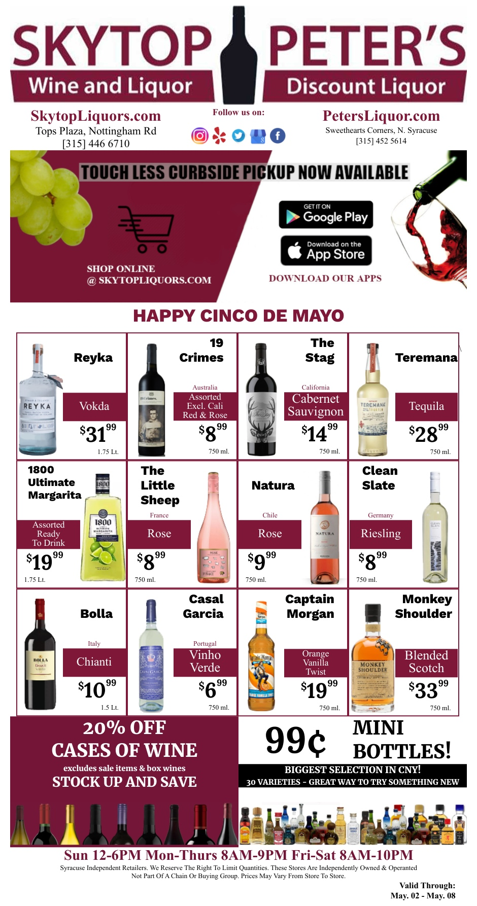Wine and liquor sale coupons syracuse new york