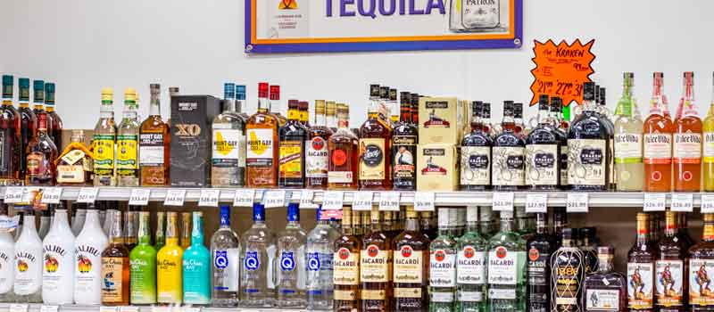 rum and tequila top shelf
